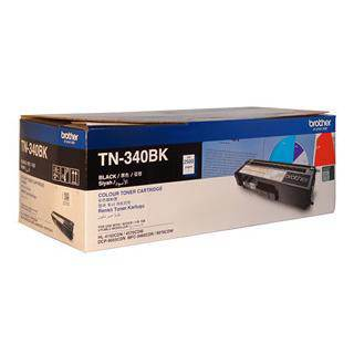 Brother TN-340 Black Toner Cartridge (2500 Pages)