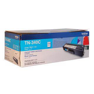 Brother TN-340 Cyan Toner Cartridge (1500 Pages)