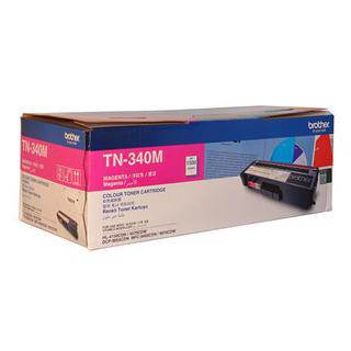 Brother TN-340 Magenta Toner Cartridge (1500 Pages)