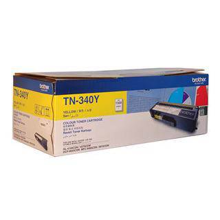 Brother TN-340 Yellow Toner Cartridge (1500 Pages)