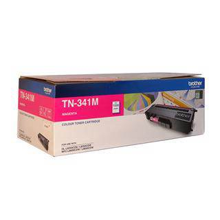 Brother TN-341 Magenta Toner Cartridge (1500 Pages)