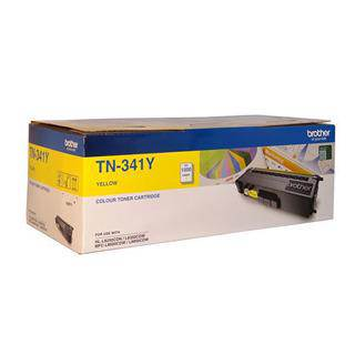 Brother TN-341 Yellow Toner Cartridge (1500 Pages)