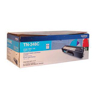 Brother TN-348 Cyan Toner Cartridge (6000 Pages)