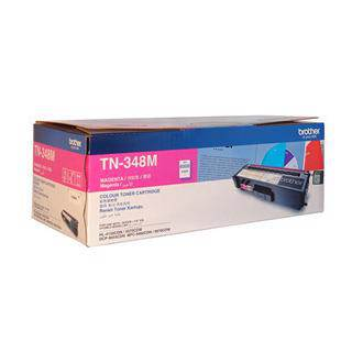 Brother TN-348 Magenta Toner Cartridge (6000 Pages)