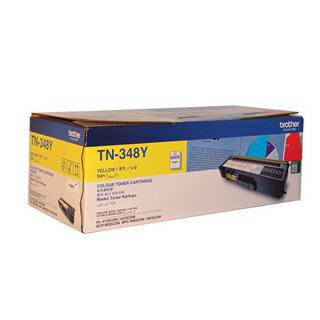 Brother TN-348 Yellow Toner Cartridge (6000 Pages)