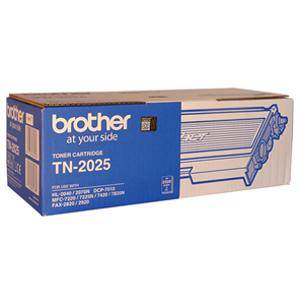 Brother TN2025 Black Toner Cartridge (2500 Pages)