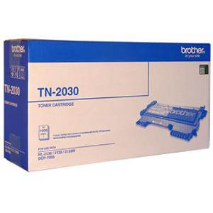 Brother TN2030 Black Toner Cartridge (1000 Pages)