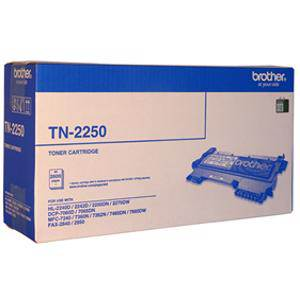 Brother TN2250 Black Toner Cartridge (2600 Pages)