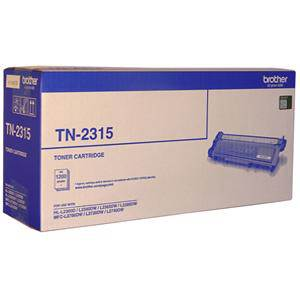 Brother TN2315 Black Toner Cartridge (1200 Pages)