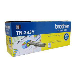 Brother TN233 Yellow Toner Cartridge (1300 Pages)