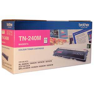 Brother TN240 Magenta Toner Cartridge (1400 Pages)