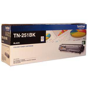 Brother TN251 Black Toner Cartridge (2500 Pages)