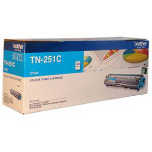 Brother TN251 Cyan Toner Cartridge (1400 Pages)