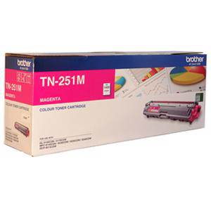 Brother TN251 Magenta Toner Cartridge (1400 Pages)