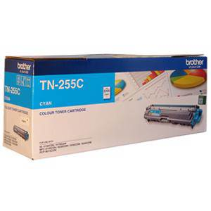 Brother TN255 Cyan Toner Cartridge (2200 Pages)
