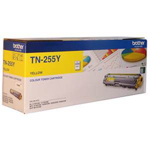 Brother TN255 Yellow Toner Cartridge (2200 Pages)