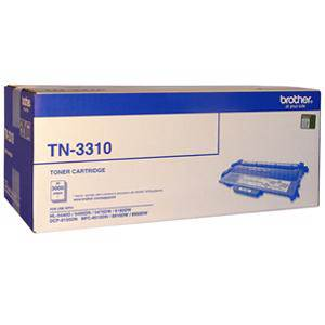 Brother TN3310 Black Toner Cartridge (3000 Pages)