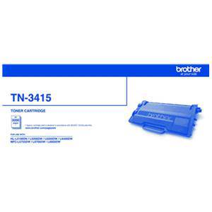 Brother TN3415 Black Toner Cartridge (3000 Pages)