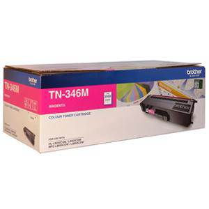 Brother TN346 Magenta Toner Cartridge (3500 Pages)