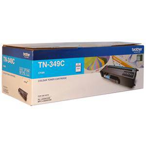 Brother TN349 Cyan Toner Cartridge (6000 Pages)