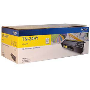 Brother TN349 Yellow Toner Cartridge (6000 Pages)