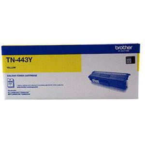 Brother TN443Y Yellow Toner Cartridge (4000 Page)