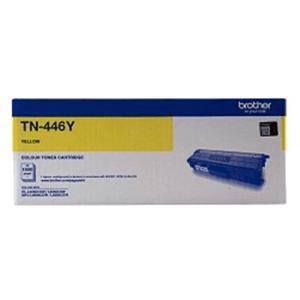 Brother TN446Y Yellow Toner Cartridge (6500 Page)