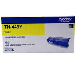 Brother TN449Y Yellow Toner Cartridge (9000 Page)
