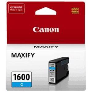 Canon 1600XL Cyan Ink Cartridge (900 Pages)