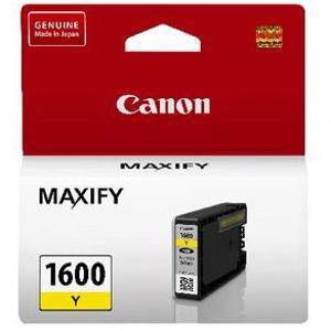 Canon 1600XL Yellow Ink Cartridge (900 Pages)