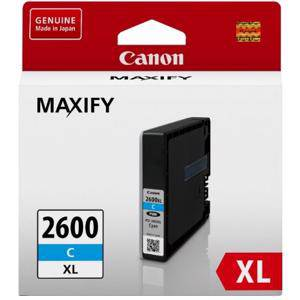 Canon 2600XL Cyan Ink Cartridge (1500 Pages)