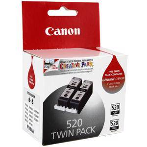 Canon 520 Black Twin Pack (2 Pack)