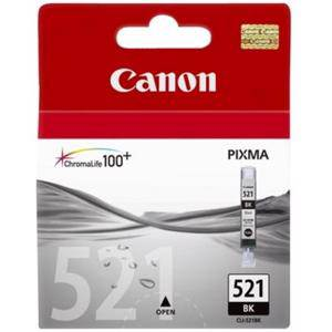 Canon 521 Black Ink Cartridge (450 Pages)