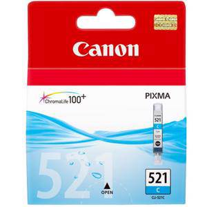 Canon 521 Cyan Ink Cartridge (450 Pages)