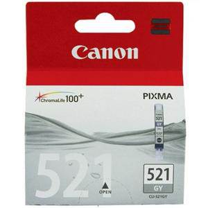 Canon 521 Grey Ink Cartridge (450 Pages)