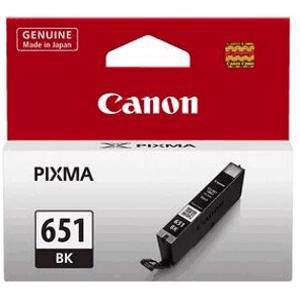 Canon 651 Black Ink Cartridge (330 Pages)