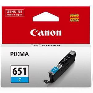 Canon 651 Cyan Ink Cartridge (330 Pages)