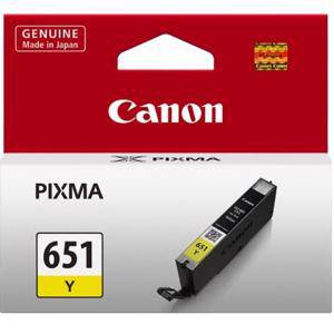 Canon 651 Yellow Ink Cartridge (330 Pages)