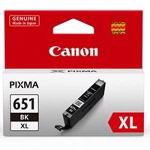 Canon 651XL Black Ink Cartridge (750 Pages)