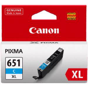 Canon 651XL Cyan Ink Cartridge (750 Pages)