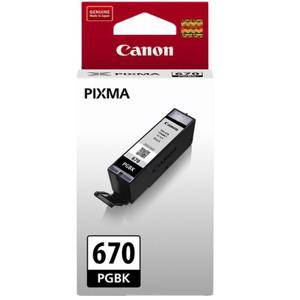 Canon 670 Black Ink Cartridge (300 Pages)