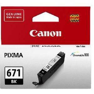 Canon 671 Black Ink Cartridge (350 Pages)
