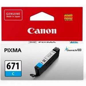 Canon 671 Cyan Ink Cartridge (350 Pages)