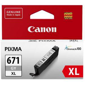 Canon 671XL Grey Ink Cartridge (690 Pages)