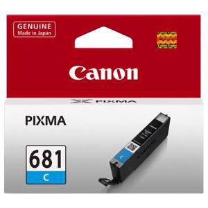 Canon 681 Cyan Ink Cartridge (250 Pages)