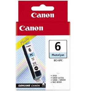Canon BCI6 Photo Cyan Ink Cartridge (340 Pages)
