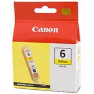 Canon BCI6 Yellow Ink Cartridge (380 Pages)