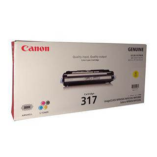 Canon CART317 Yellow Toner Cartridge (4000 Pages)