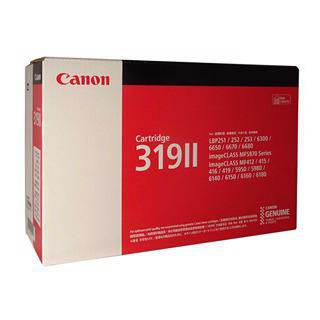 Canon CART319II Black Toner Cartridge (6400 Pages)