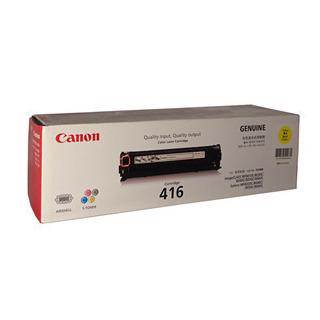 Canon CART416 Yellow Toner Cartridge (1500 Pages)